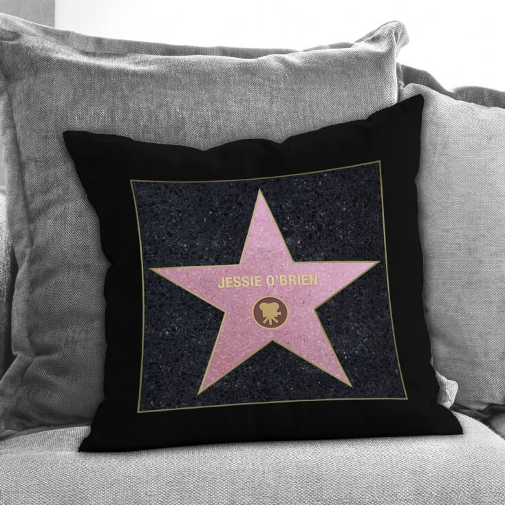 Personalised Walk of Stars Cushion