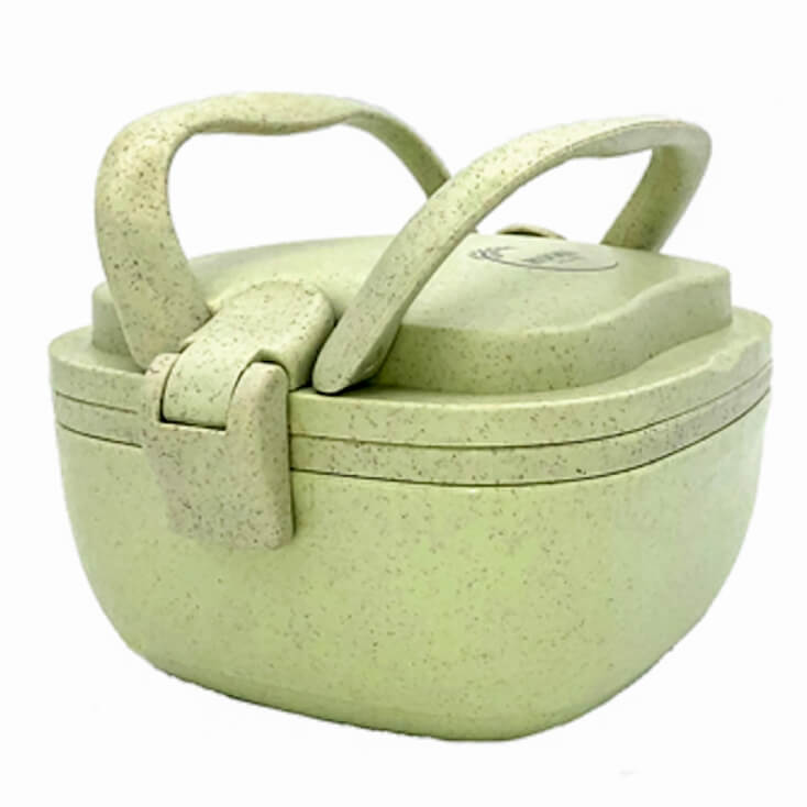 Huski Home Sustainable Rice Husk Lunchbox - Pistachio
