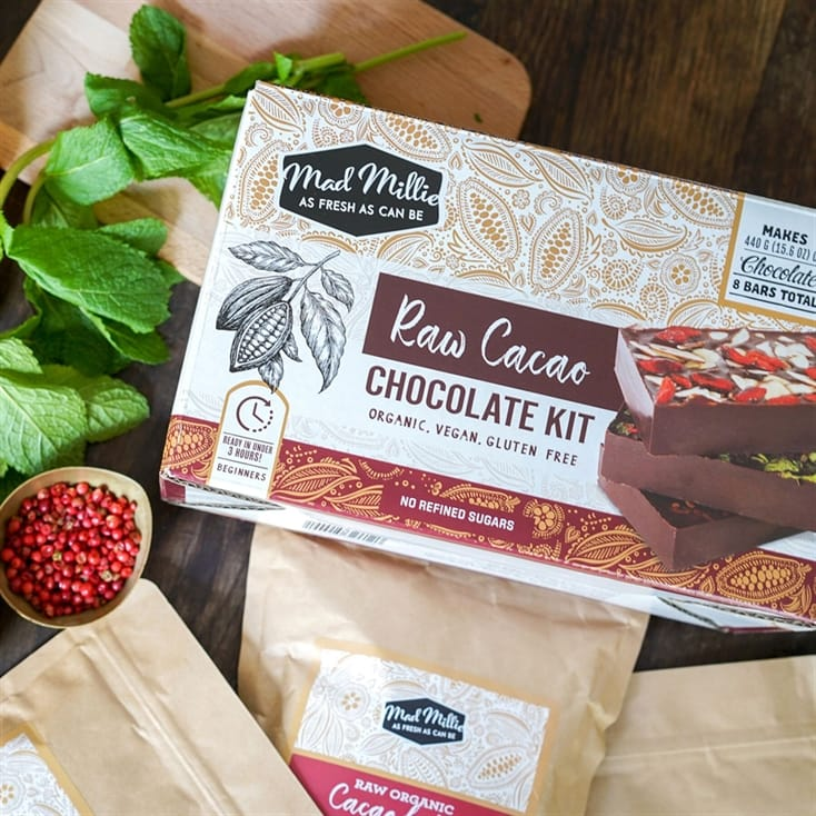 Raw Cacao Chocolate Making Kit