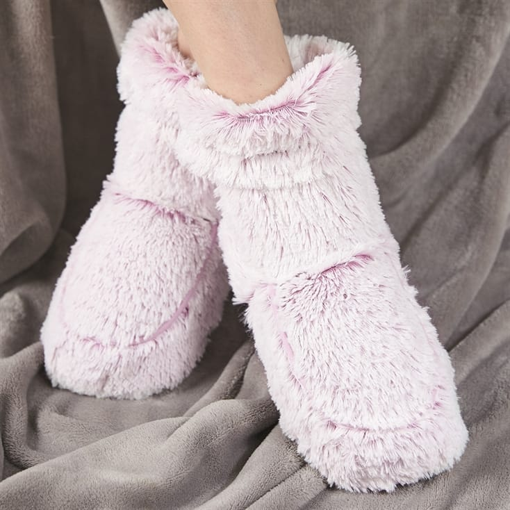 Pink Slipper Boots