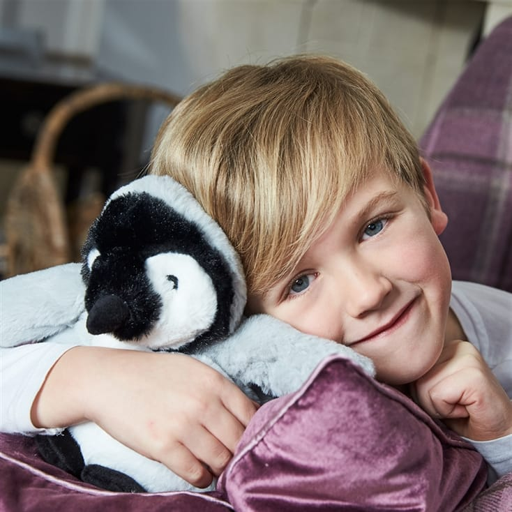 Warmies Microwavable Baby Penguin Teddy
