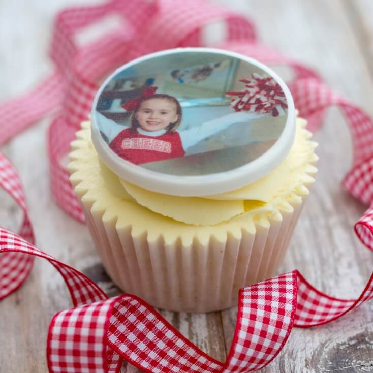 Personalised Photo Cake Topper Decorations