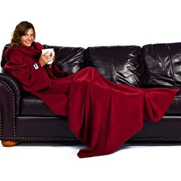 Ruby Wine Red Slanket