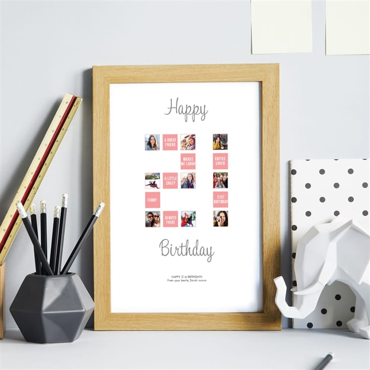 Personalised 21st Special Birthday Print