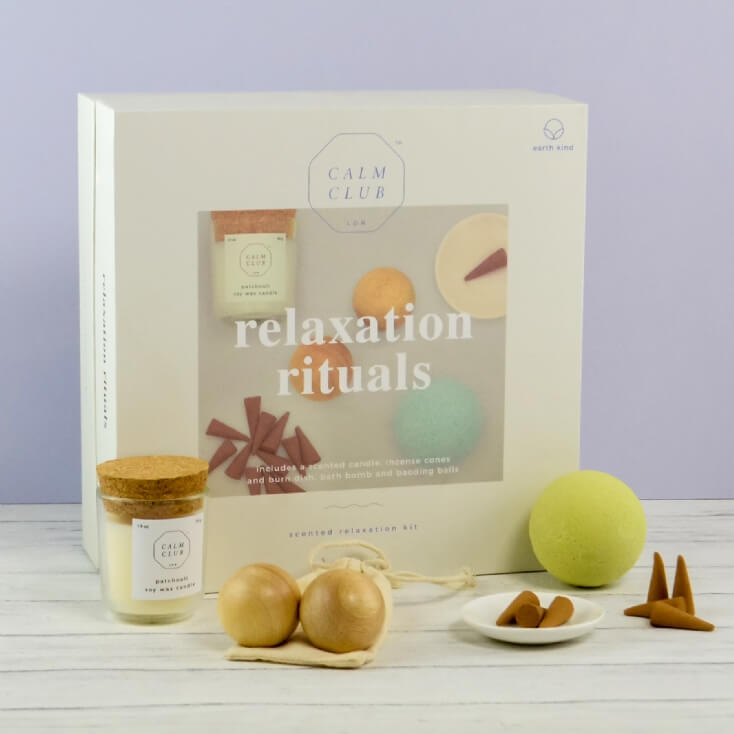 Calm Club Relaxation Gift Set