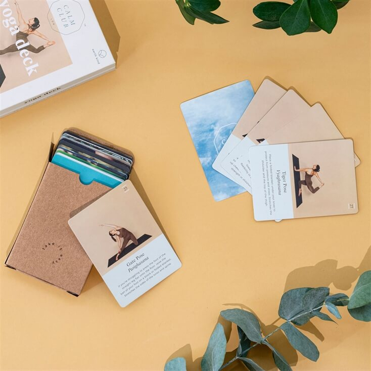 Calm Club Yoga Cards