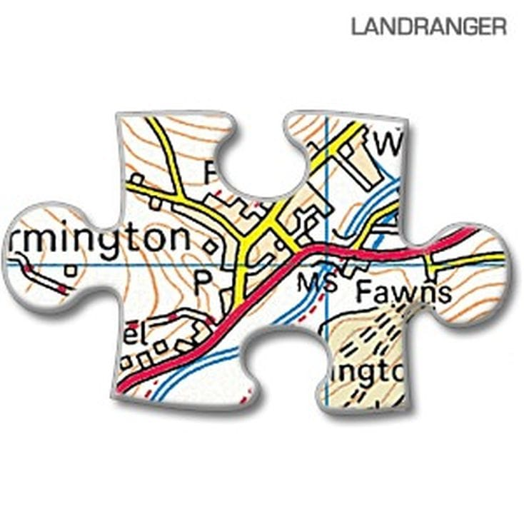 Personalised Jigsaw Puzzle 255 Pc Map