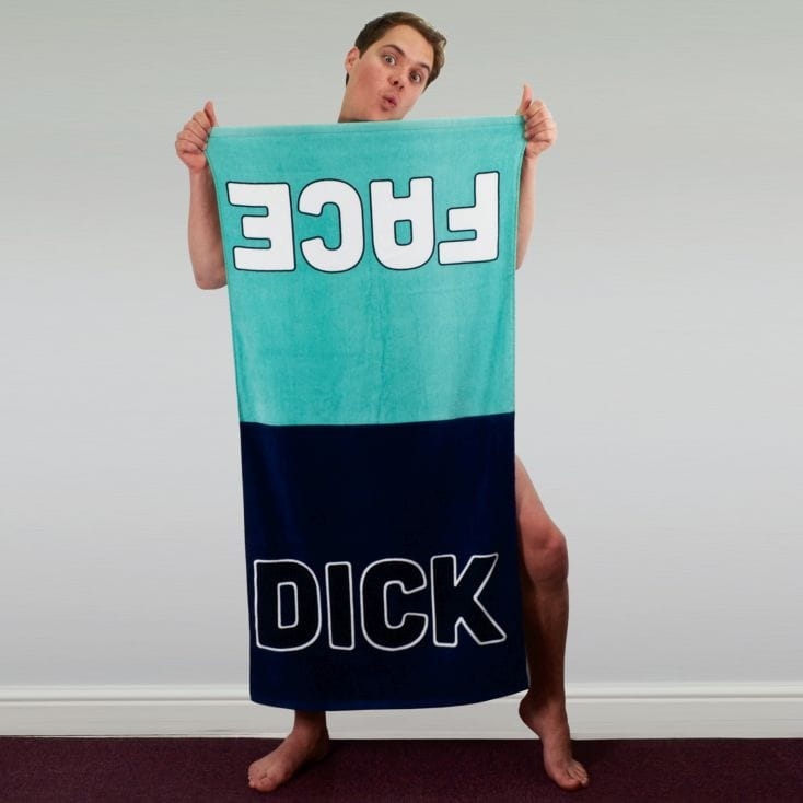 Dick Face Towel