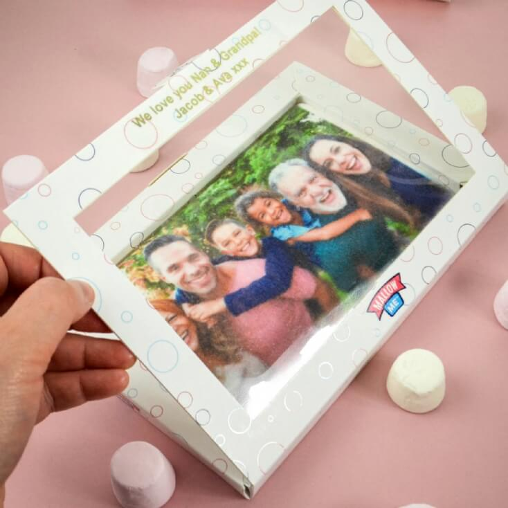 Personalised Giant Photo Letterbox Marshmallow