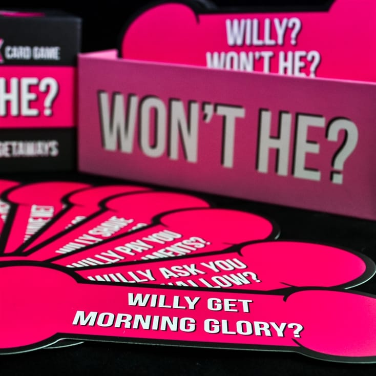 Willy? Won't He? Card Game