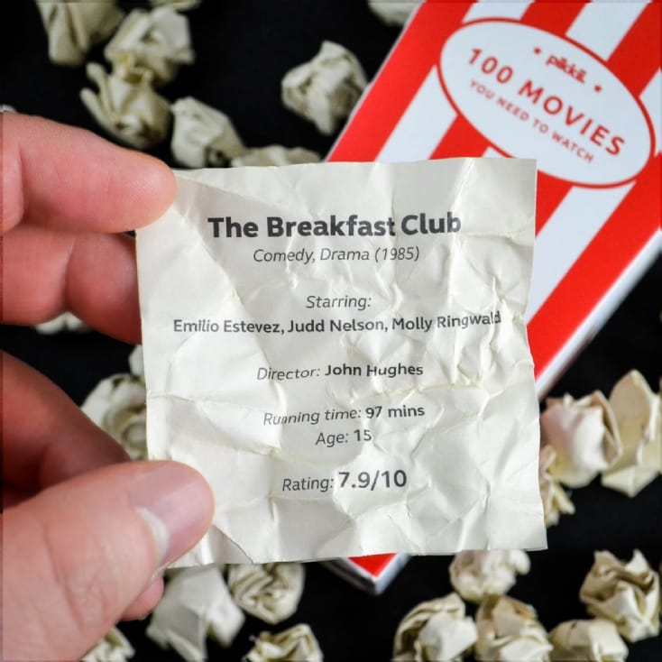 100 Movie Popcorn Bucket List