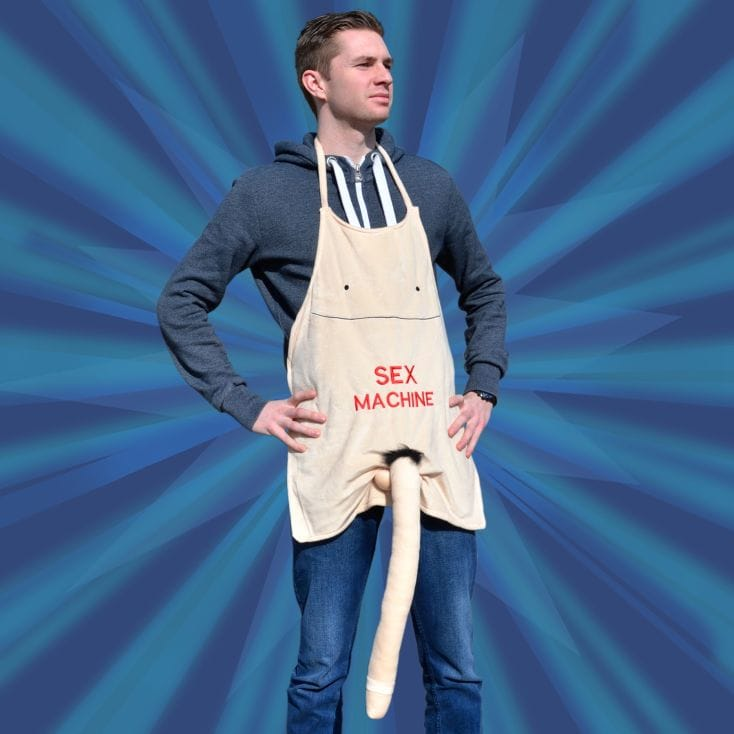 extra long penis apron