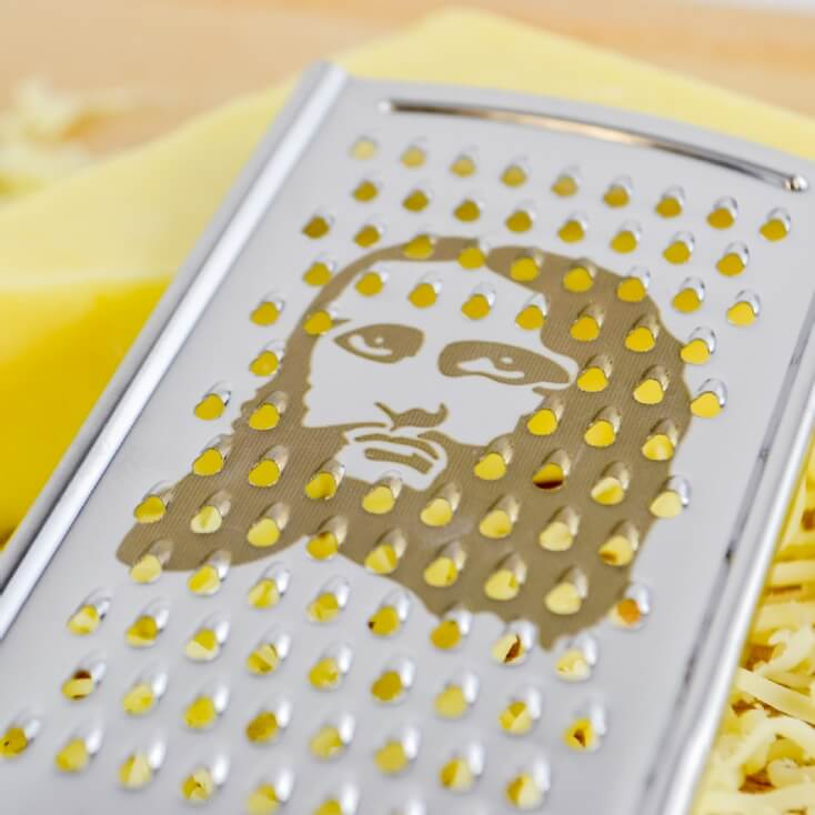Cheesus Christ Novelty Cheese Grater