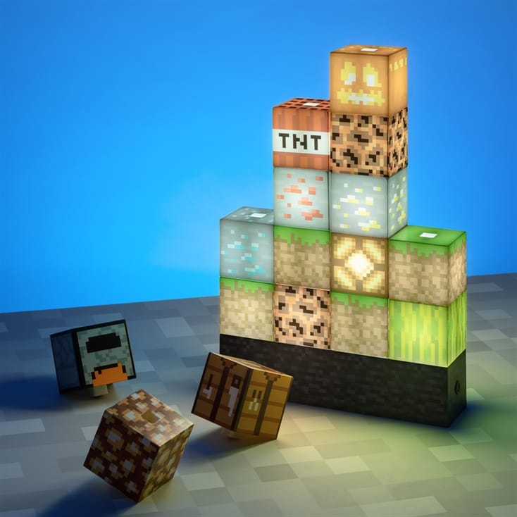 Minecraft Block Building Light