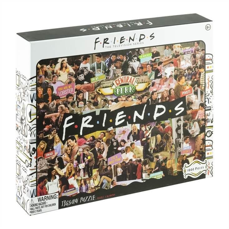 Friends 1000 Piece Collage Jigsaw
