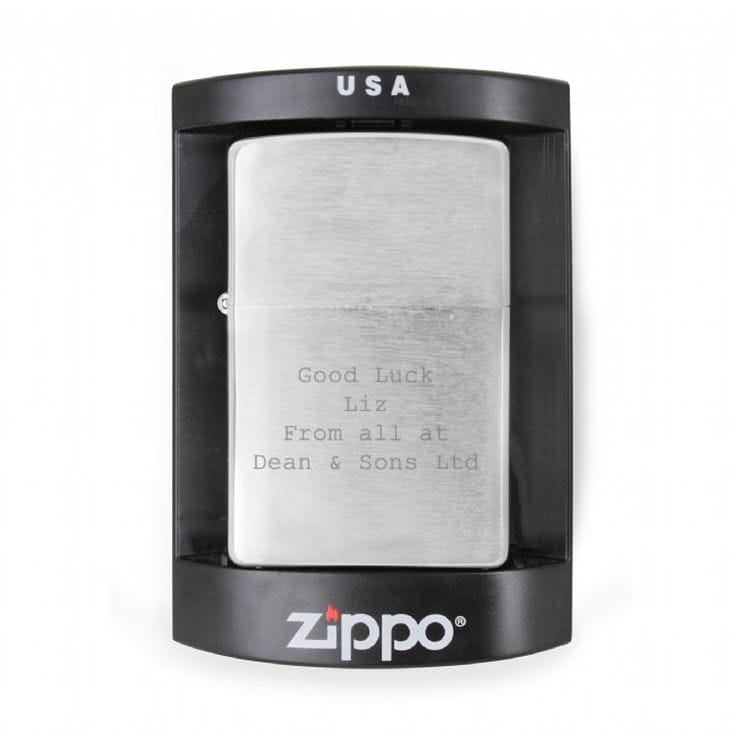 Personalised Zippo Lighters