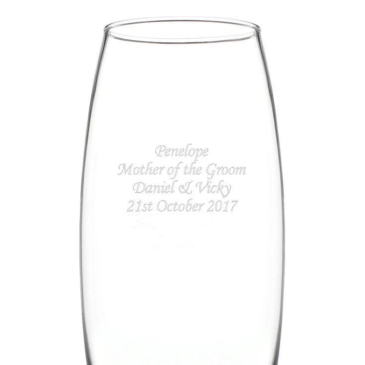 Personalised Tapered Bullet Vase