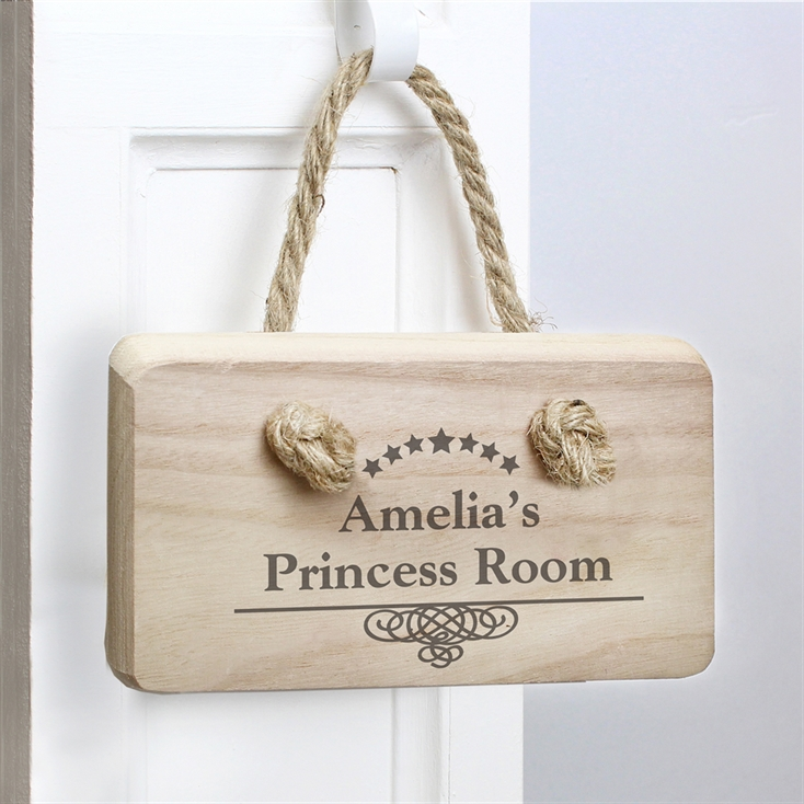 Decorative Personalised Wooden Sign