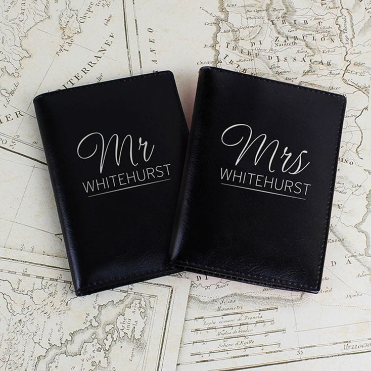 Mr & Mrs Black Passport Holders