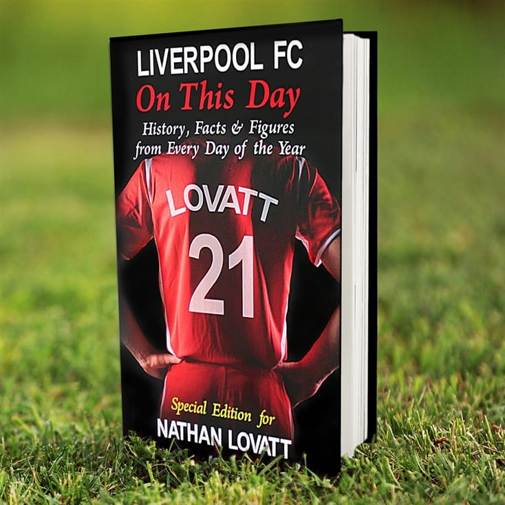 Personalised Liverpool FC Book