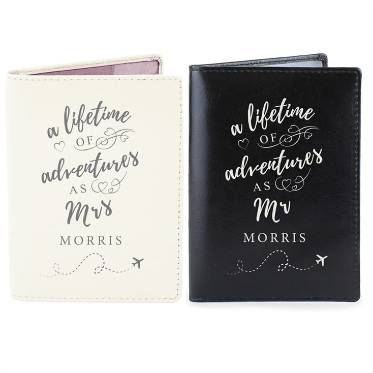 73b04abb81fb Personalised Mr and Mrs Travel Accessories