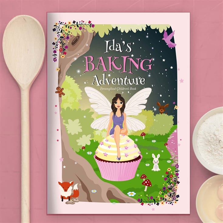 Personalised Kids Baking Book Adventure