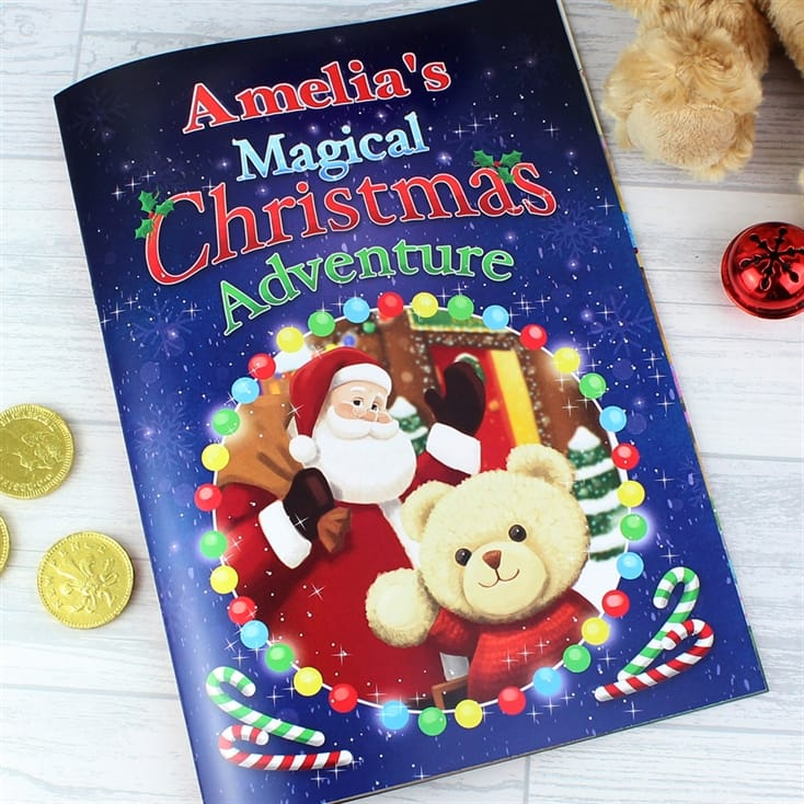 The Christmas Story Book.Personalised Christmas Story Book