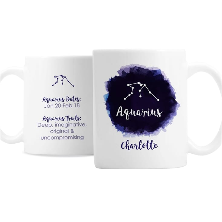 Personalised Zodiac Birthday Mugs | Find Me A Gift
