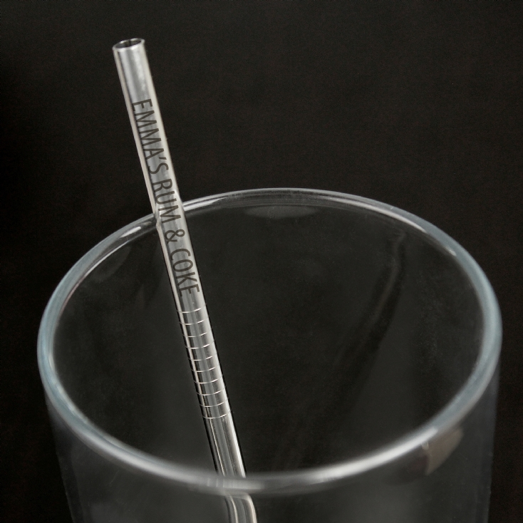 Personalised Reusable Eco Steel Straw