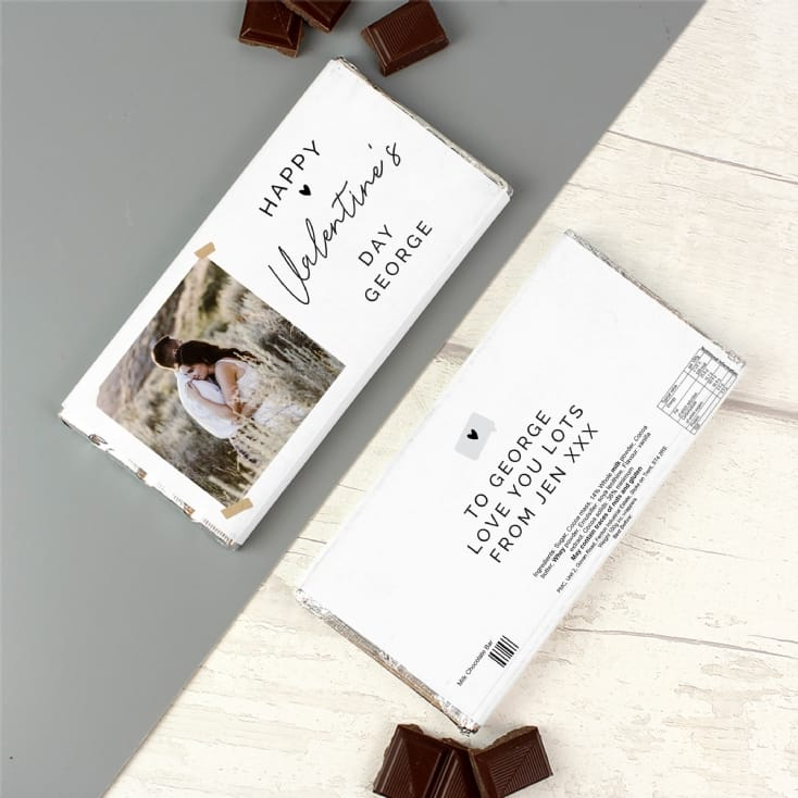 Personalised Photo Upload Chocolate Bar