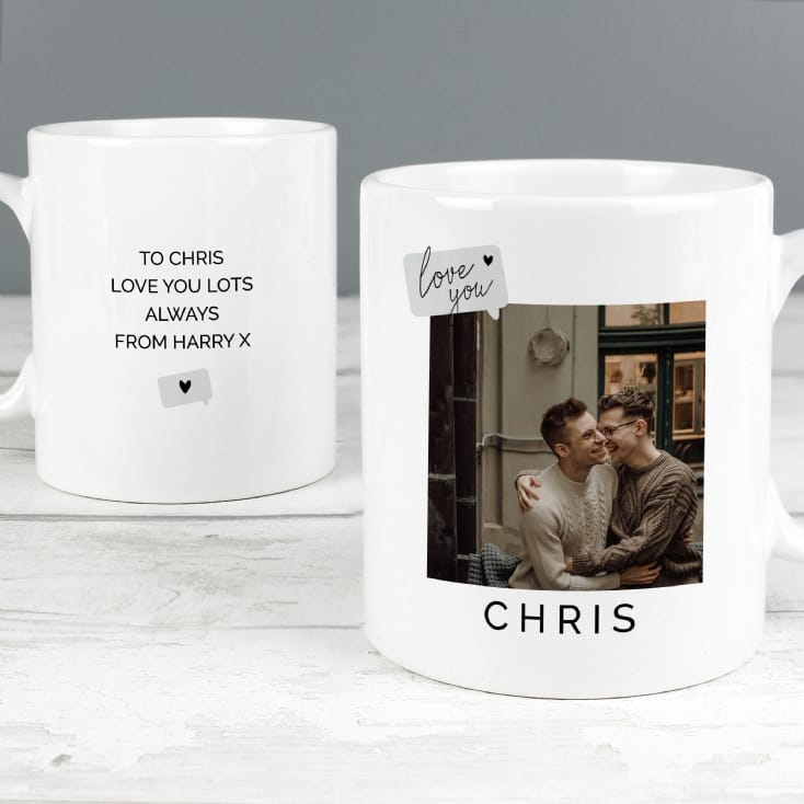 Personalised Photo Upload Mug