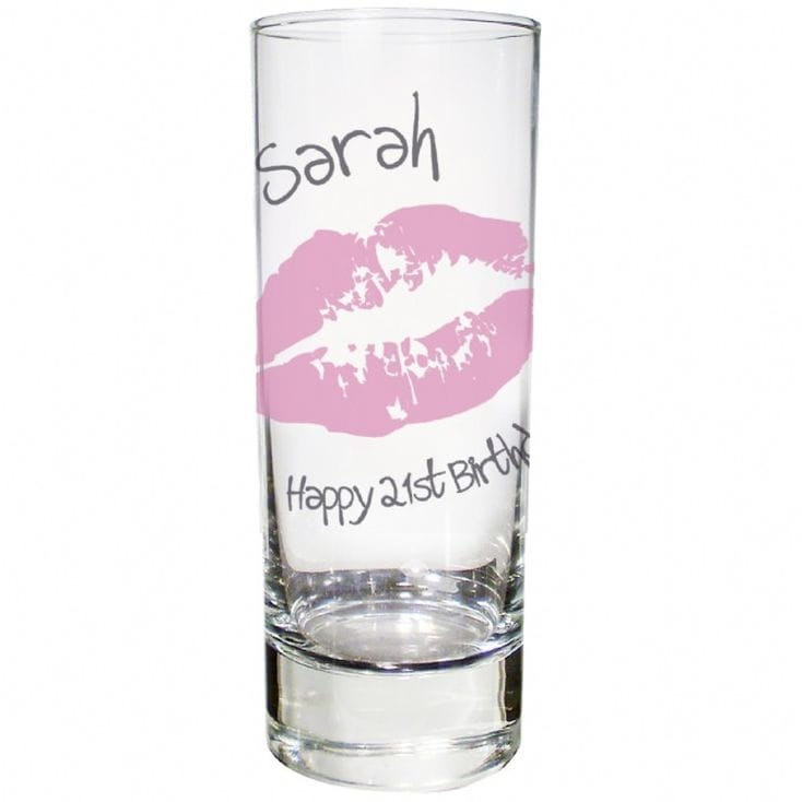 Personalised Kiss Shot Glass