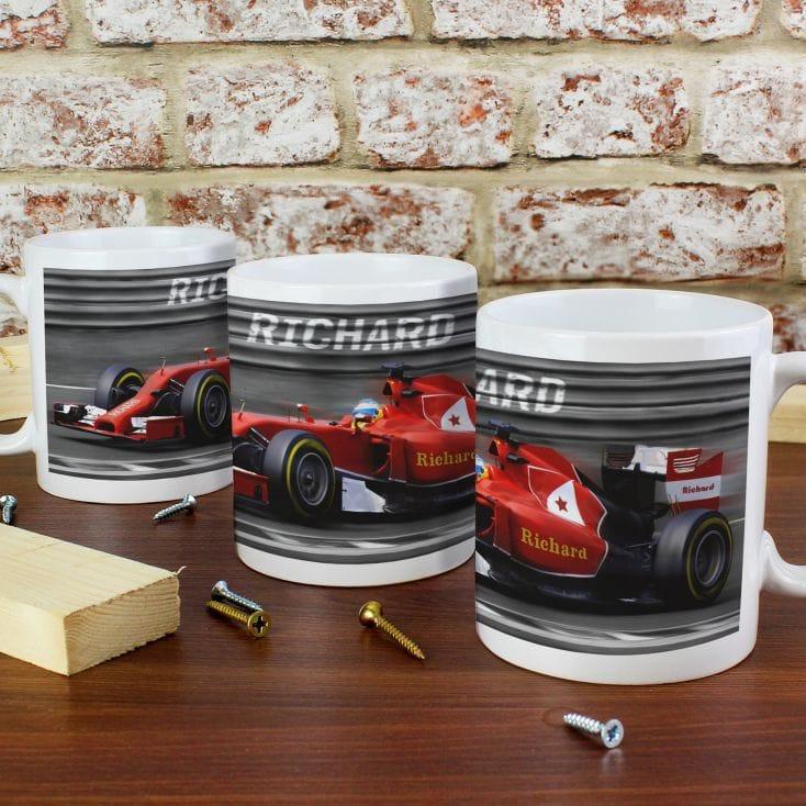 Personalised Formula 1 F1 Car Birthday Gifts For Him Male Boys Men Dad Grandad