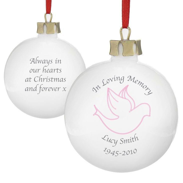 In Loving Memory Christmas Bauble