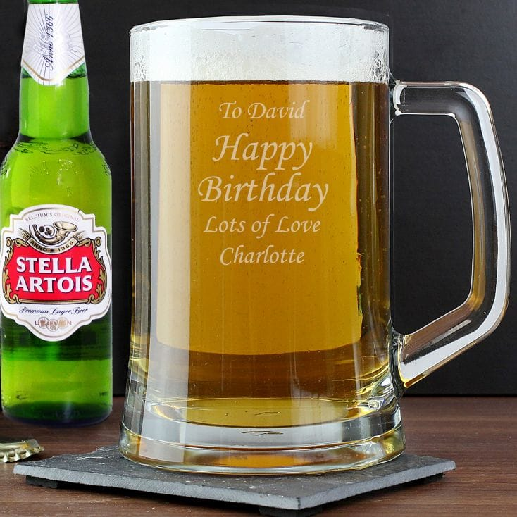 Personalised Tankard & Beer Gift