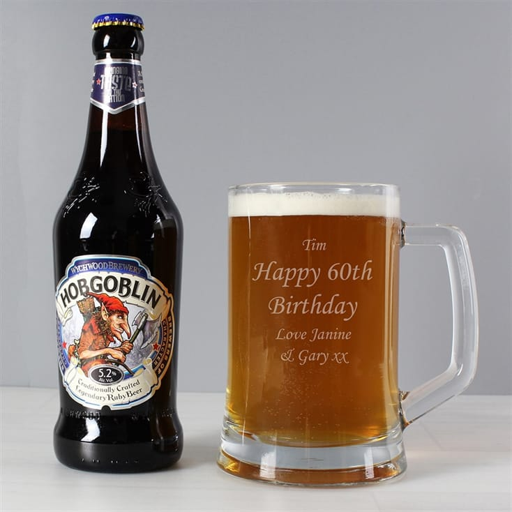 Personalised Tankard and Traditional Ale Gift Set