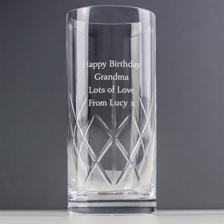 Crystal Personalised Hi-Ball Glass