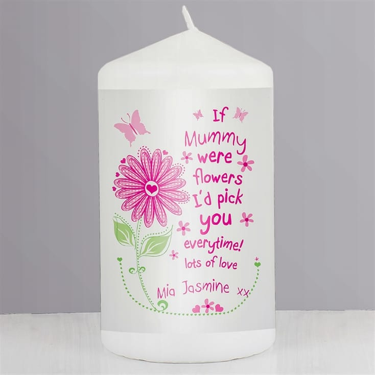I'd Pick You Personalised Candle
