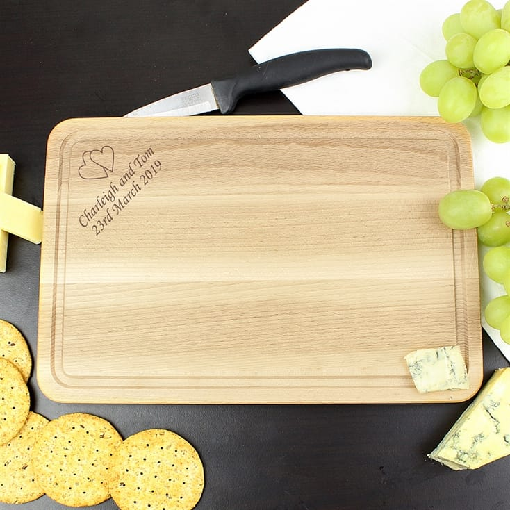 Personalised Wooden Chopping Board - Rectangle