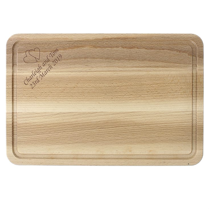 Personalised Rectangular Wooden Chopping Board