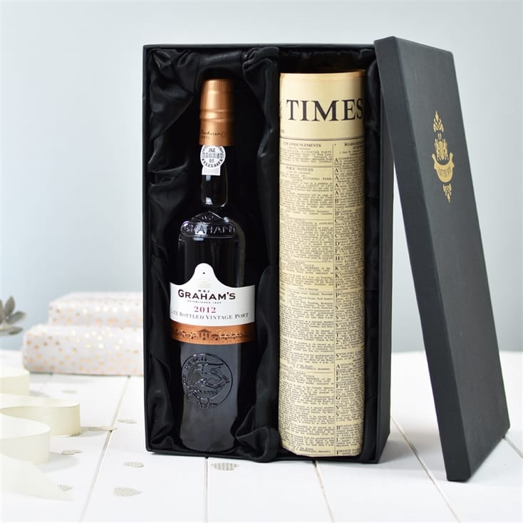 Port & Newspaper Gift Box