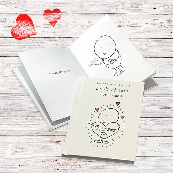 Chilli and Bubble's Personalised Book of Love