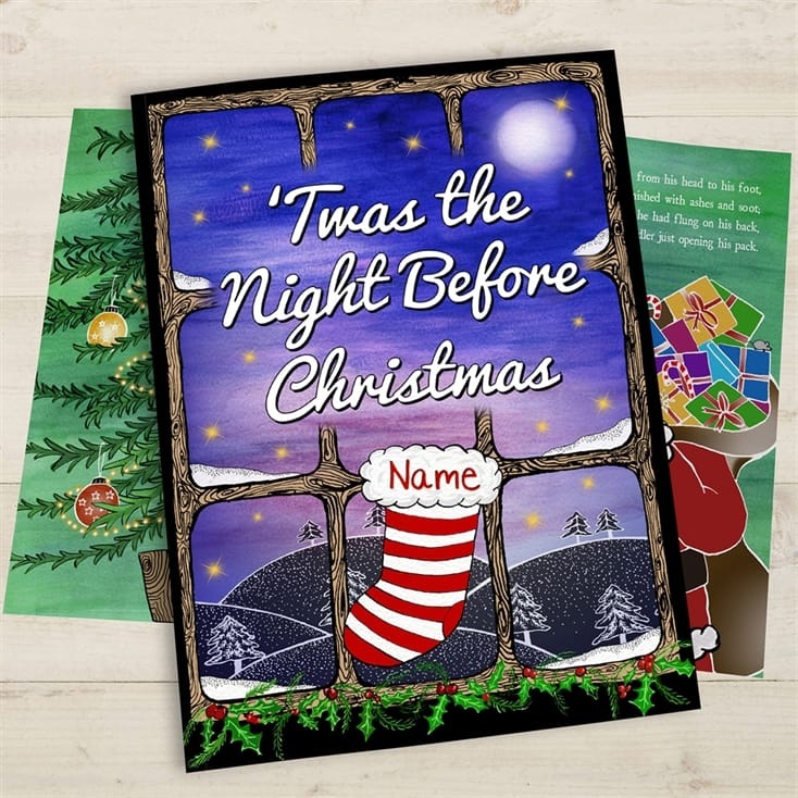 Personalised Twas The Night Before Christmas