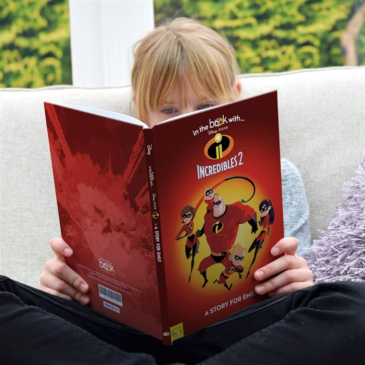 Incredibles 2 Personalised Story Book