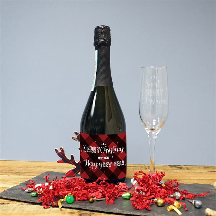 Merry Christmas Prosecco Gift Set