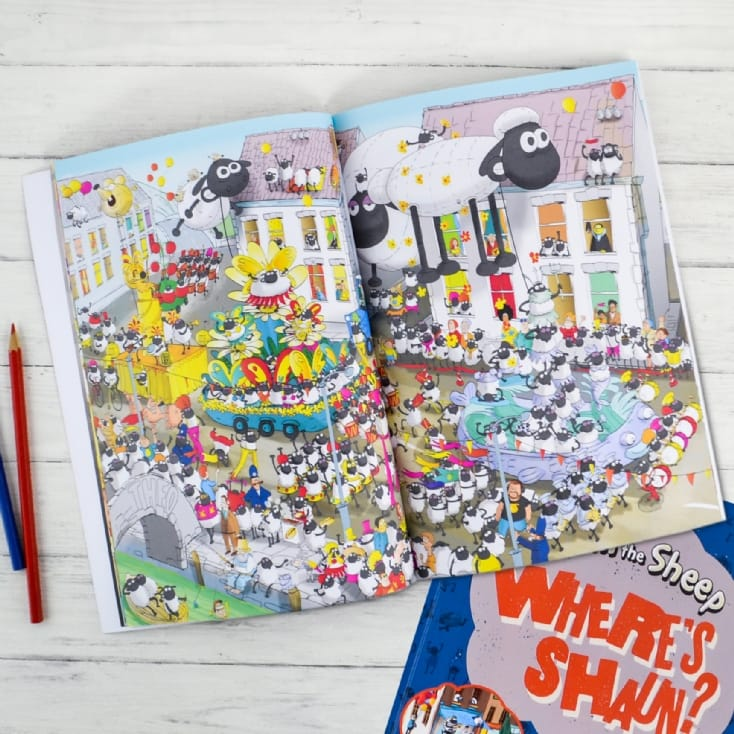 Shaun The Sheep Personalised Book