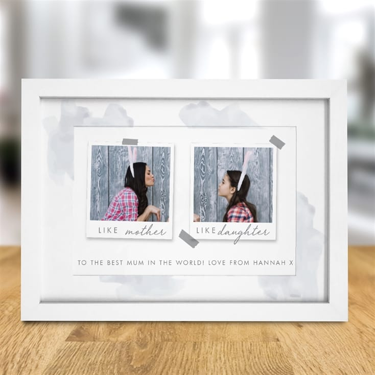 Personalised Like Parent Like Child Polaroid Print