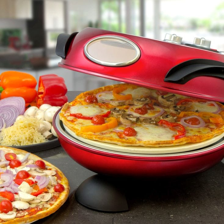 rotating stone baked pizza maker