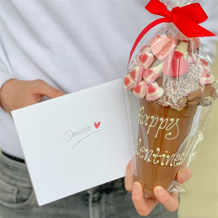 Personalised Valentine's Chocolate Smash Cup