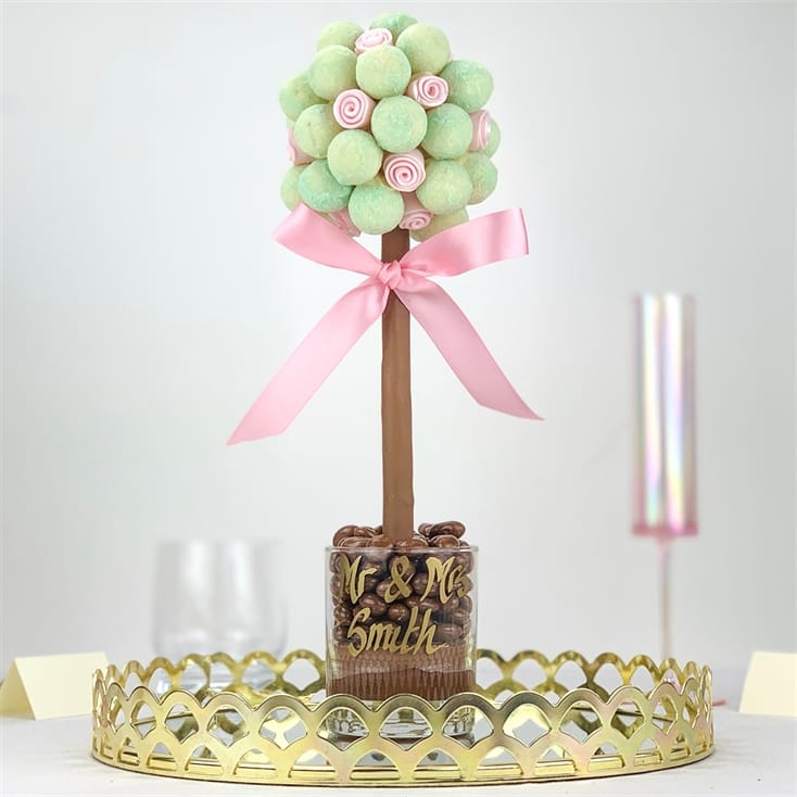 Gin and Tonic Truffle Tree Centrepiece